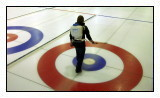 If curling ice was flat, the stone would move barely halfway across the sheet. Friction would halt the rock within seconds. To make the ice more amenable to the sport, devoted ice makers employ a technique called pebbling.