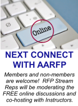Members and non-members are welcome!  RFP Stream Reps will be moderating the FREE online discussions and co-hosting with RFP Instructors. Please join us to share your facility updates and brainstorm with other recreation professionals.