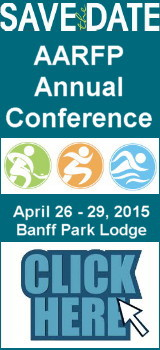 Click here to learn more about the AARFP Annual Conference and Trade Show for 2015 in Banff.